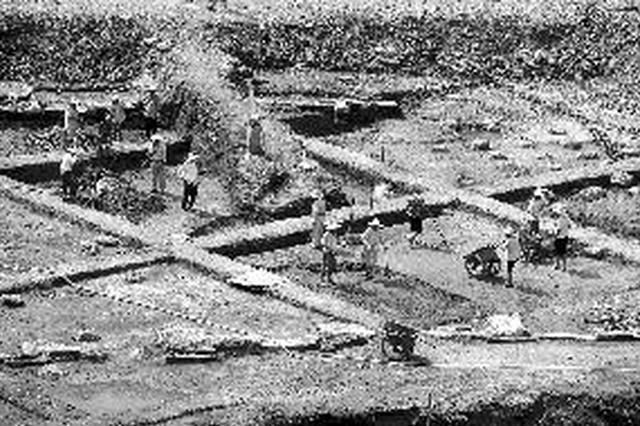 南京考古发掘青石街民国建筑