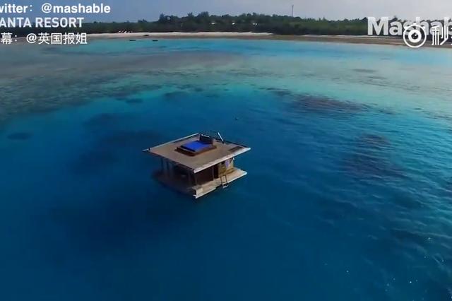 一个独特的漂浮酒店 这设计简直不能更棒