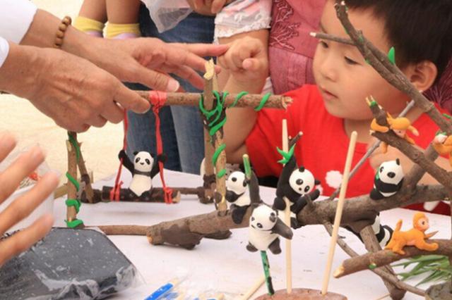 南京红山动物园发出免费券 周末共吸引六万名游客