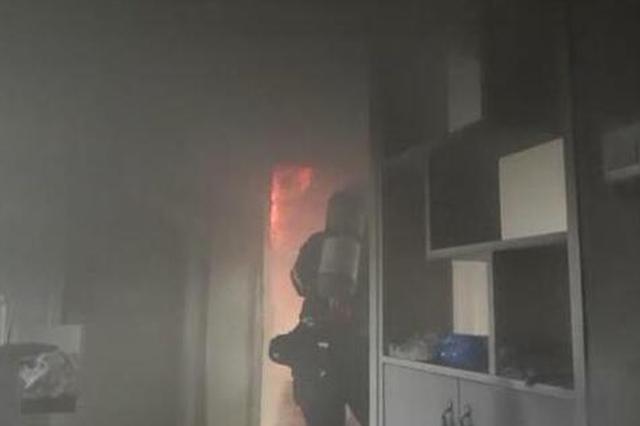 女子疑患精神类疾病 在家玩火引火灾致5人被困