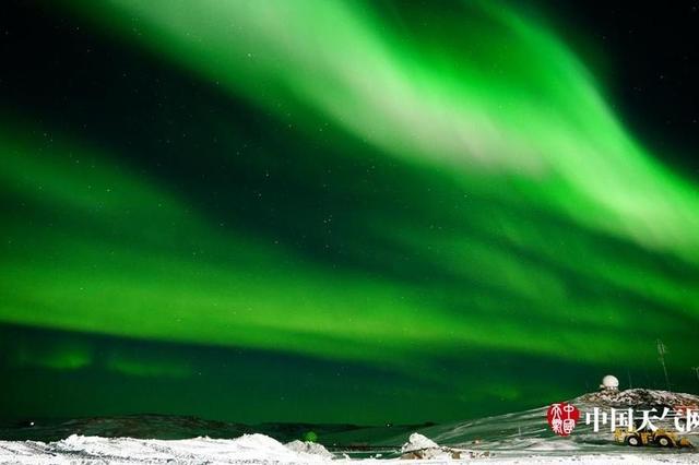 来自南极的问候:神秘的极光