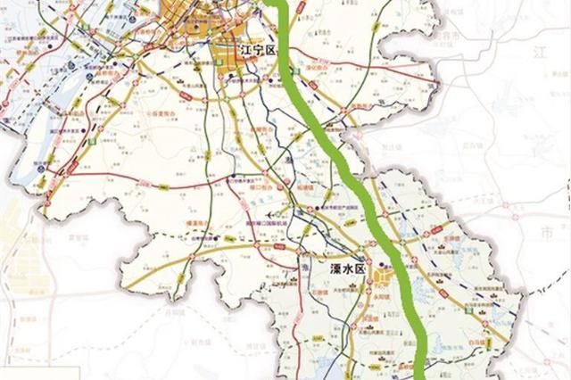 南京主城到高淳溧水将增免费通道 预计明年底贯通