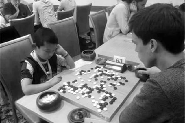 南京一7岁小棋手 获欧洲围棋大会亚军