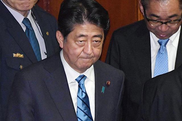 日媒调查:安倍内阁支持率下滑