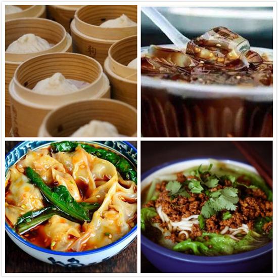 花样百出的中国美食