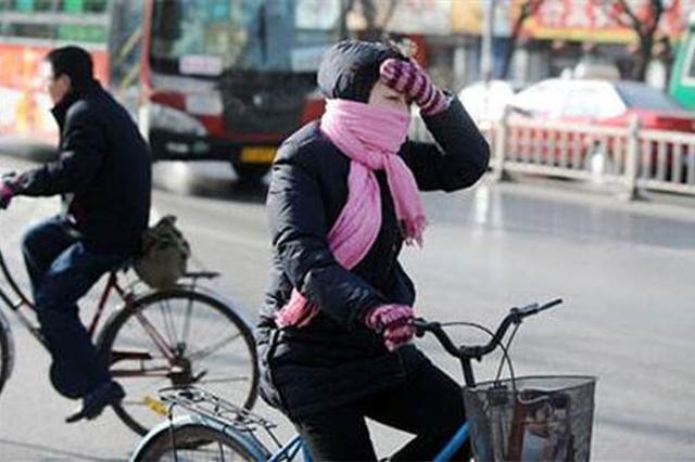 昨天半个江苏气温跌至零下 徐州迎来今年的初雪