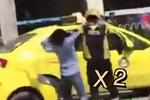 两车剐蹭起争执 的姐和外卖小哥在街头上演了这样一幕