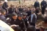 化工厂与村民起冲突 警察赴现场处置遭保安围攻