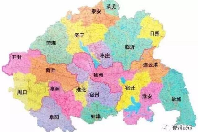 安徽淮北拟融入江苏徐州都市圈:要修路对接