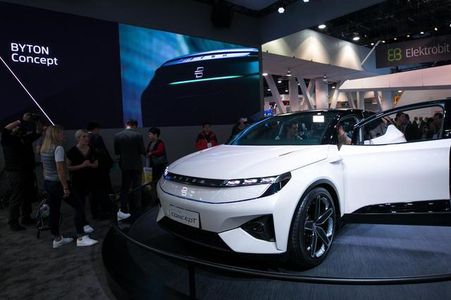 江苏首辆智能电动SUV首发 南京拜腾与一汽战略合作