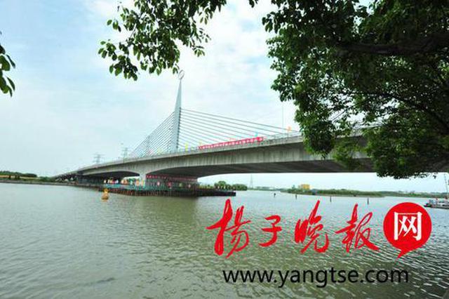 """2.3万吨大桥""""长高""""了1.87米 江浦路吴淞江大桥创多项新纪录"""