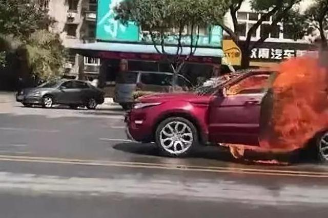 路虎烧车事件被害人报警数次仍遇害 芜湖警方回应