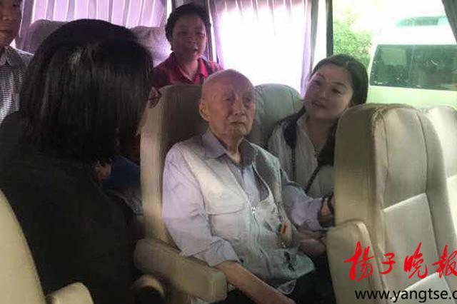 阔别家乡77年 93岁老兵跨越千里镇江句容寻亲人