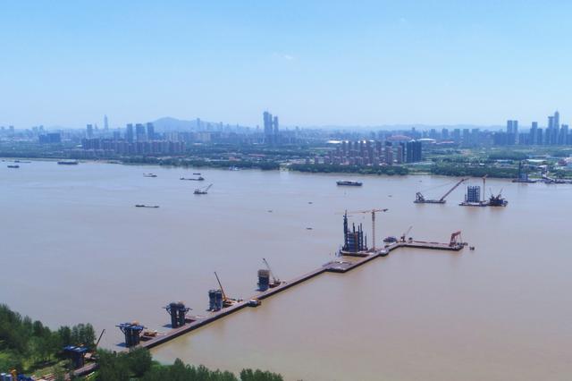南京长江五桥进展如何了?2020年通车10分钟可过江