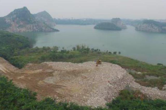 太湖戒毒所领导随意盖章 万吨垃圾倾倒附近太湖(图)