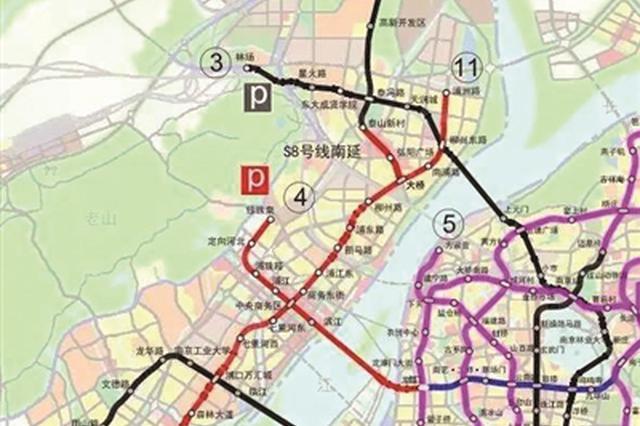 南京地铁4号线二期工程或取消江心洲北站
