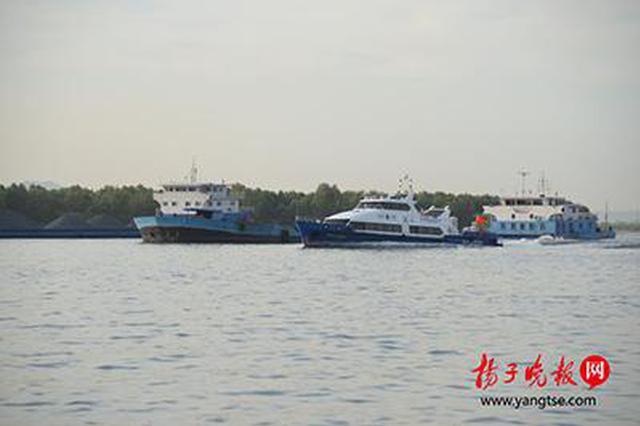 南京公安局重拳打击非法采砂 严守长江生态防线