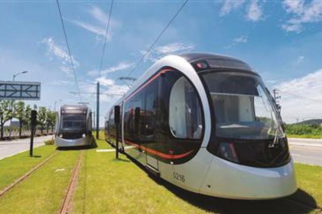 苏州有轨电车2号线来啦 8月底开通试运营