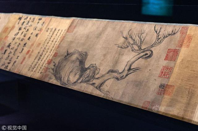 苏轼《木石图》在香港公开亮相 预计成交价破4亿港元
