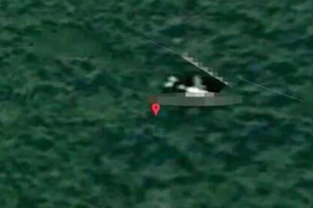 英国专家称,MH370客机残骸位于柬埔寨密林深处。(图源:《镜报》)