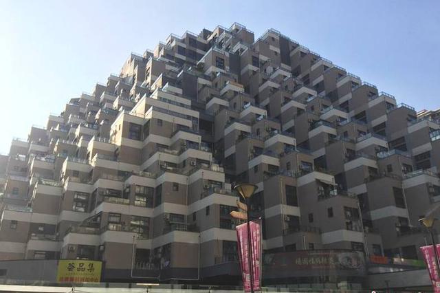 """昆山山体式建筑像""""金字塔""""引热议"""