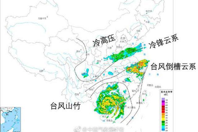 """""""山竹""""席卷华南 为何千里外的江浙沪也出现强降雨"""
