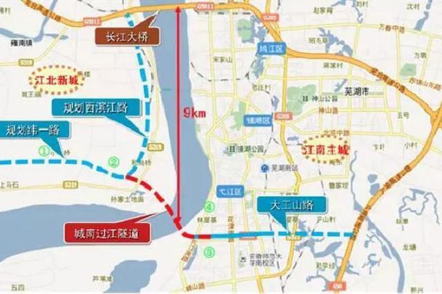 南京建宁西路过江通道年内开工 计划2023年通车