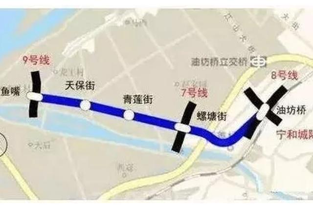 南京两条地铁传来新进展 看看哪条经过你家门口