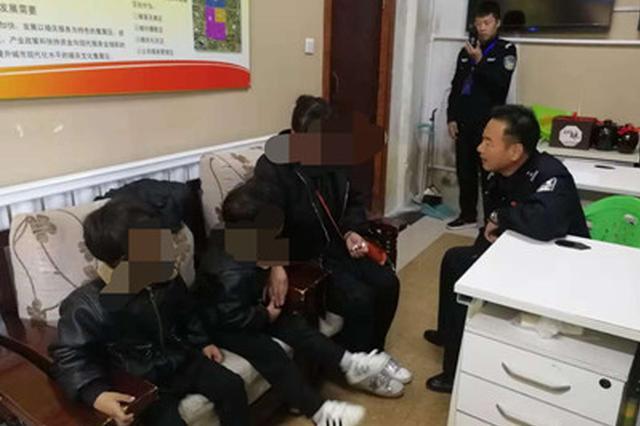 前夫欠她1万3 连云港一女子带着双胞胎儿子以死催债