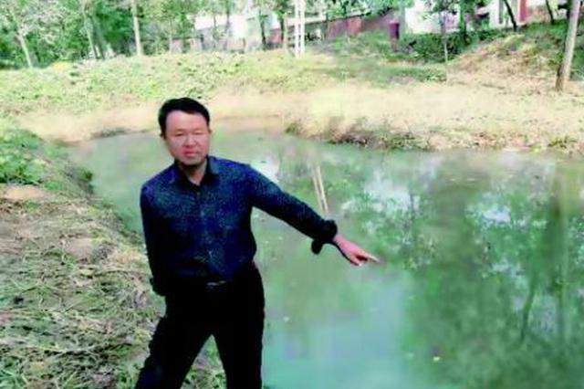 菏泽53岁农民许付林不顾心脏病三米深坑塘救人