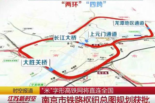 """铁路枢纽地位渐输合肥、杭州?南京""""米""""字型铁路获批复"""