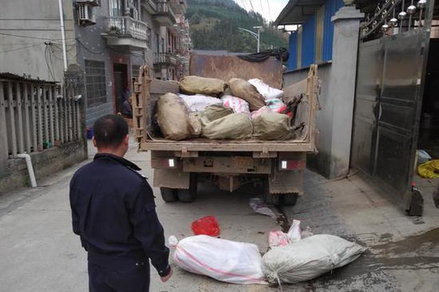 浙江查处大量野生动物冻体 警方:已控制两名嫌疑人