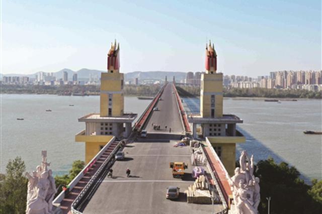 南京长江大桥即将恢复通车 桥上是否能设公交专用道?