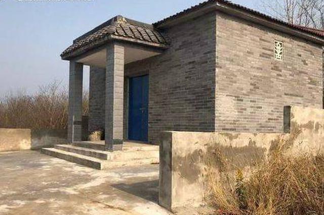 """南京农村现""""墓地村""""看起来是房子其实是墓地!"""