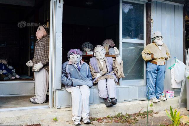 日本荒村惊现300余真人玩偶