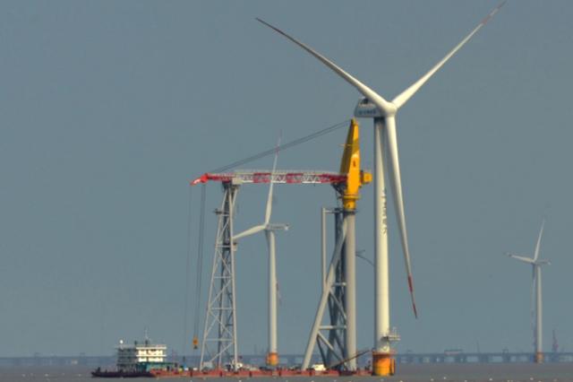 """""""海上三峡""""正崛起 江苏公布24个风电建设项目"""