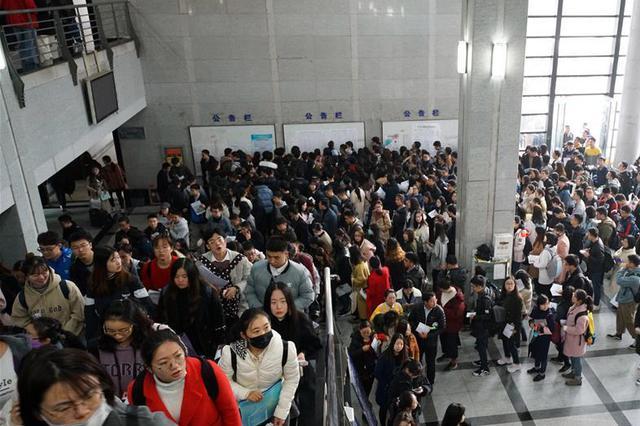 江苏省考报名首日达899人 最激烈岗位竞争比达15:1
