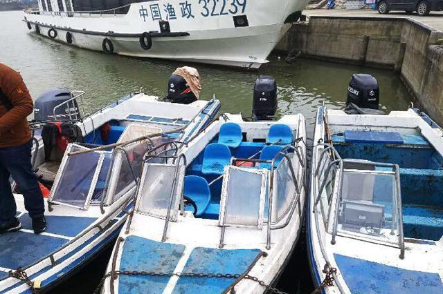 4条大马力快艇高邮湖上电鱼 8名嫌疑人落网