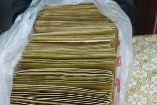 338封信里装了4万多元,每个收信人都?#25285;?#25105;们不要