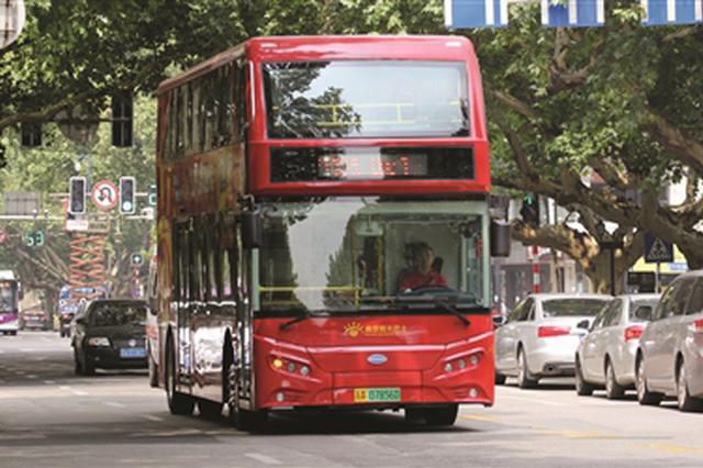 """南京双层巴士开通半年遇尴尬 建议回归""""日常线"""""""