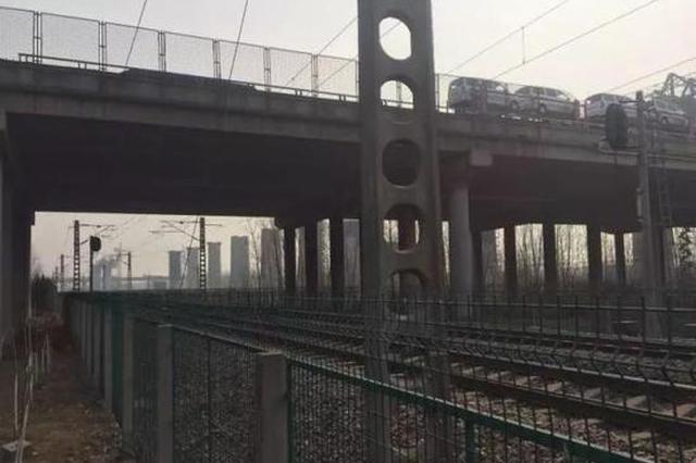 沈海高速淮沭新河跨陇海铁路大桥出现裂缝 实施交通管制