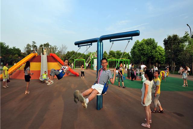 """江苏率先探索""""公园+""""建设免费开放率将达94%以上"""