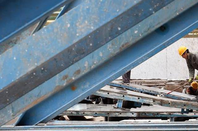 江苏常熟一在建工地发生安全事故 1人坠落身亡