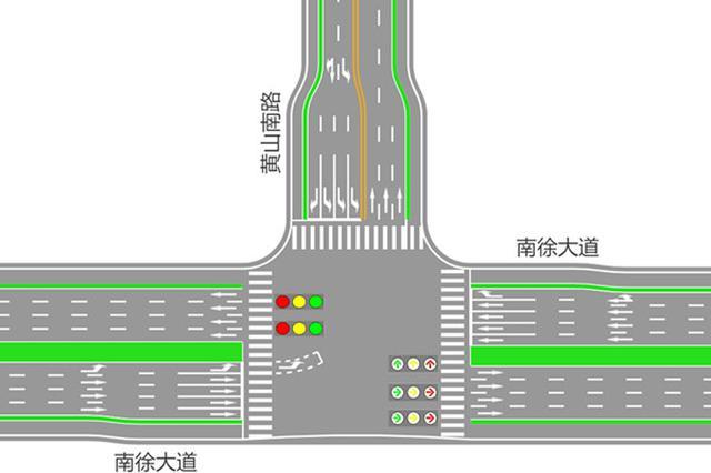 """""""交通要道""""镇江南徐片区部分路口交通将进行调整"""