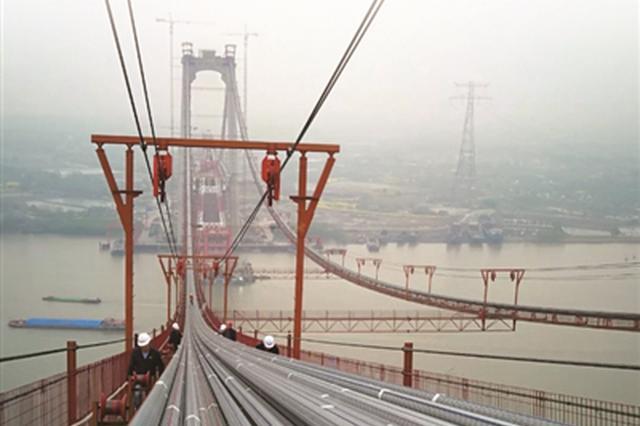 五峰山长江大桥将通车 南京至连云港两小时互达