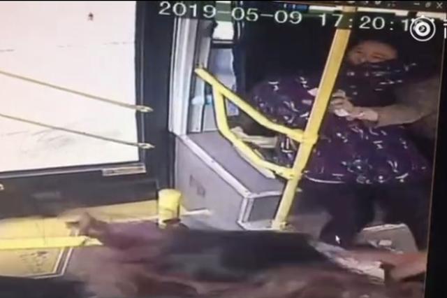 想让小孩在公交车上撒尿 女子殴打公交车司机被刑拘