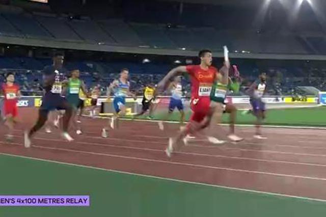 0.01秒之差无缘领奖台 中国男子接力留遗憾