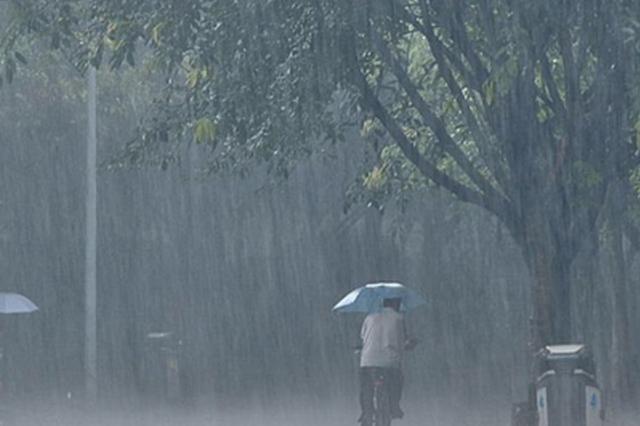 南京明天迎降水 夜里局部大雨 最高温度将回落至25℃左右