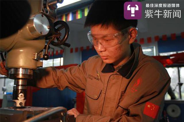 了不起的职校生 20岁成江苏大工匠认定副高职称