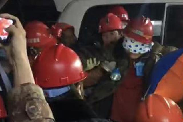 黑龙江铁矿透水事故又有2名矿工获救 仍有6人失联